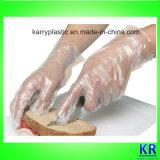 Перчатки HDPE устранимые, пластичные перчатки
