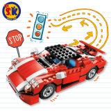 Kind-Plastiklaufendes Superauto 23 in 1 Block-Spielzeug