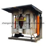 Forno di fusione di inclinazione idraulico di induzione delle coperture d'acciaio