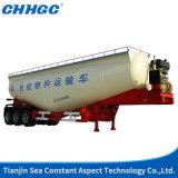3 eixos aumentam reboque do tanque do pó do cimento
