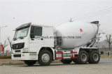 Tipo 6X4 de Sinotruk HOWO que conduz o caminhão do misturador concreto