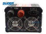Suoer Power Inverter 2500W con el cargador Solar Inverter DC 24V a AC 220V (HDA-2500C)