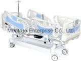 CE/ISO medizinisches fünf Funktions-elektrisches Krankenhauspatient-Bett