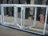 Vidrio de aluminio del marco BI-Plegable Windows y la puerta