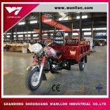 Motocicleta del uso 150cc del cargo del rectángulo del envase, triciclo