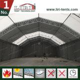 Tienda de acero de la estructura del polígono usada para el almacén industrial