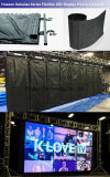 Weiche LED-Vorhang-Bildschirmanzeige für Mieten, Theater, Konzerte, Erscheinen, Exhibtion