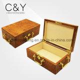Luxe Piano finition en bois Boîte à montres