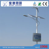 6mpole 30W LED 300W Turbine Solar Wind LED Light