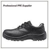 Zapato de trabajo barato de acero negro de la alta calidad