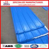 SGCC ha preverniciato la lamiera sottile d'acciaio ondulata galvanizzata del tetto