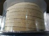 Embalagem da fibra de Aramid com impregnação de PTFE e aditivo de lubrificante
