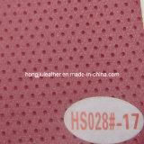 L'offre chaude de Dongguan a fait le cuir de véhicule de PVC