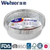 Envase de alimento de aluminio del rectángulo de la hoja del envase de la hoja