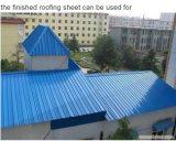 Rodillo del material para techos del metal de 900 Portable que forma la máquina