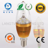 3W Aluminum Die Casted LED Candle Light met Ce