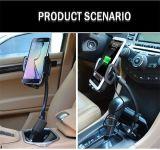 차를 위한 이동 전화 충전기 USB 무선 충전기