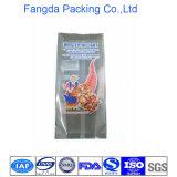 Saco de plástico para trás selado da alta qualidade