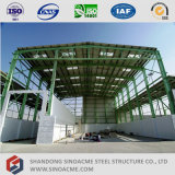 Сарай стальной структуры высокого подъема Prefab светлый