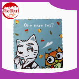 디지털 Printed Promotional Microfiber Gift Cloth 또는 Lens Cleaning Cloth