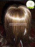 Человеческие волосы 100%/передний парик волос шнурка с Highlight