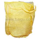 Grande sacchetto giallo del contenitore dei pp
