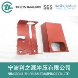 キャビネットボックスのための金属板の部品を押すこと