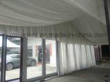 호텔 회의를 위한 주문을 받아서 만들어진 목제 짜임새 유리제 천막을%s 가진 10X24m 알루미늄 프레임