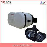 De hoofd Opgezette VideoGlazen van de Werkelijkheid Smartphone van de Vertoning Plastic 3D Virtuele