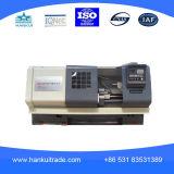 Máquina High-Precision do torno da base Ck6140 lisa