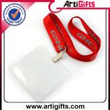 Lanière promotionnelle de détenteur de carte d'identification avec le clip de sûreté