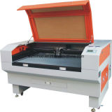 máquina de gravura do laser da máquina de estaca do laser do CO2 100W para o couro da tela