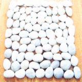 Белая Non-Slip плитка камня Cobble ванной комнаты