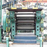 Máquina de goma del calendario del rodillo del diseño tres de la fábrica Xy3f360 para la fabricación de goma