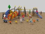 Neue Dschungel-Abenteuer-Serien-mehrfaches Yard/Schule Park//Restaurant Playground-17701