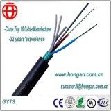 12 Kern-im Freienschicht angeschwemmtes Faser-optisches Kabel für Telekommunikation