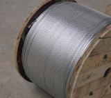 Стренга оттяжки антенны стренги провода ASTM A475 стальная гальванизированная 1X7