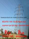 Megatro 110kv 1d5-Sz3 두 배 회로 현탁액 (가벼운 각) 유형 전송 탑
