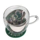 Wärme-widerstehendes Kaffeetasse-trinkendes Glas-Cup