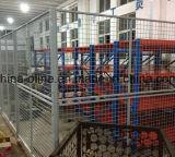 Comitato saldato della rete fissa del divisorio ricoperto PVC della rete metallica