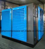 Mini compresor de aire del uso de la industria del tornillo al aire libre del gemelo