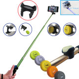 Ausdehnbares Bluetooth Shutter Selfie Stick mit Remote Button Tripods