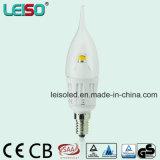 Bougie de Scob DEL de puce de CREE d'E14 B15 (LS-B304-A-CWW/CW)