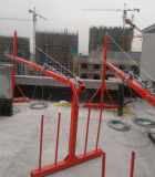 Zlpの高上昇の建物で働くことのためのシリーズによって中断される足場プラットホーム