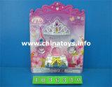 Bellezza di plastica dei giocattoli della ragazza del regalo promozionale fissata (1036307)