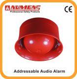 Segnalatore d'incendio di incendio dei sistemi di obbligazione, audio/allarme visivo indirizzabile (640-001)