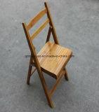Chaise pliante bambou en bois avec haute qualité (M-X3054)