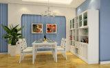 Mobília da tabela de jantar do Rattan e do Rattan das cadeiras para a sala de jantar (zp-001)