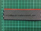 Bande élastique tissée par polyester élevé fait sur commande d'élasticité pour des sous-vêtements