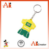 주문을 받아서 만들어진 디자인 월드컵 PVC Keychain